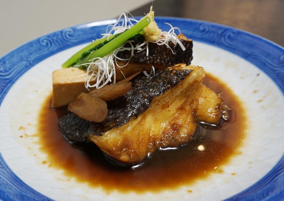 博多割烹 州二郎 魚料理 銀ムツ煮付け
