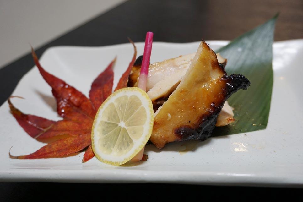 博多割烹 州二郎 肉料理 若鶏の西京焼き