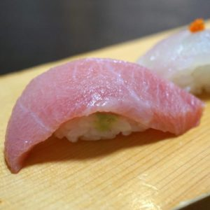 博多割烹 州二郎 季節の旬にぎり寿司5貫セット 中トロ